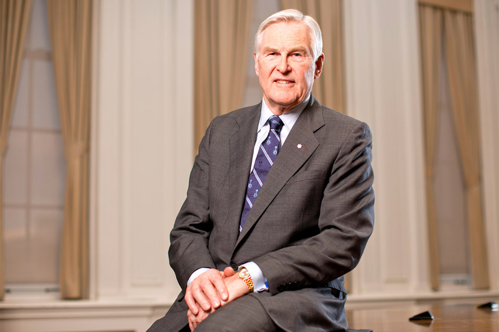The Honourable Michael H. Wilson was elected 33rd Chancellor of the University of Toronto for a three-year term beginning on July 1, 2012. In 2015 he was re-elected to an additional three-year term, the maximum service length permitted by the University of Toronto Act, 1971.